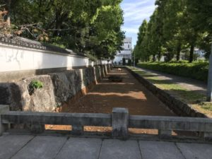 膳所城 堀