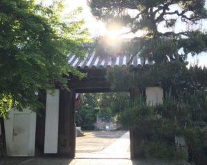 坂本城 城門