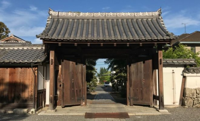 聖衆来迎寺 表門