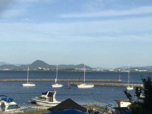西近江からの琵琶湖
