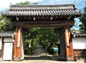坂本城 門 西教寺