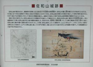 佐和山城絵図