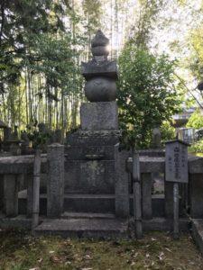 森可成の墓