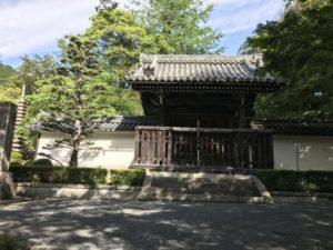 西教寺 勅使門