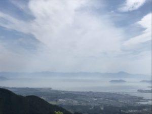 琵琶湖 西側