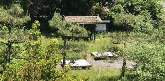 朽木谷城跡
