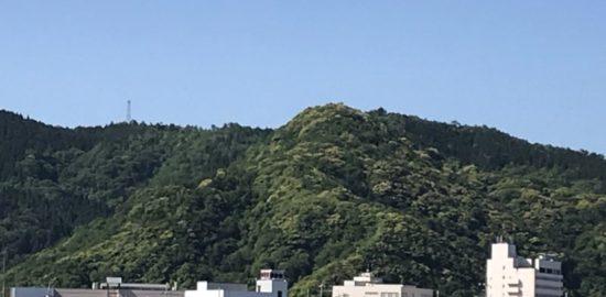 後瀬山城跡