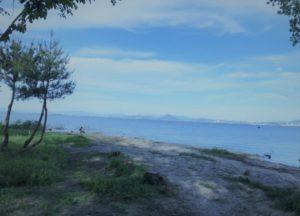 琵琶湖・坂本