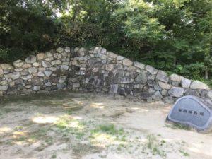 有岡城の石垣