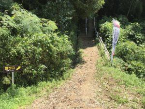 黒井(保月)城・急坂コース