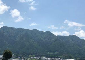 黒井城・遠景