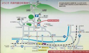 黒井城・興禅寺マップ