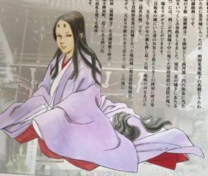 興禅寺にある春日局イラスト