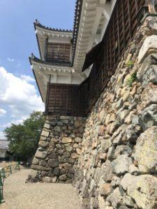 福知山城と石垣