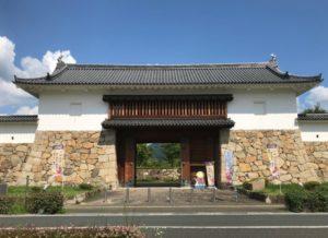 田辺城・城門