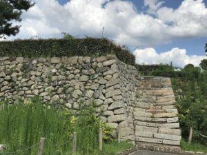 田辺城・石垣