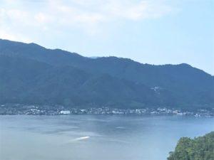 今熊野城・遠景