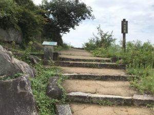 苗木城・綿蔵門跡
