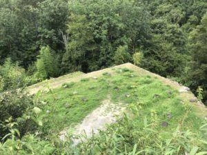 苗木城・二の丸跡