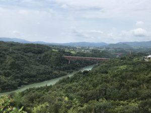 木曽川(苗木城より)