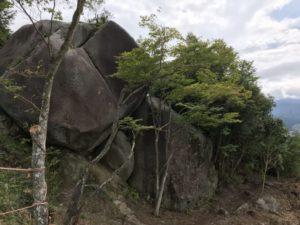 苗木城・巨石