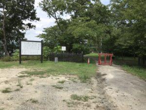 土岐高山城・駐車スペース
