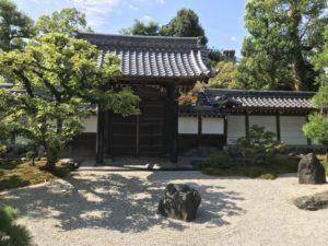 崇福寺・寄贈の中門