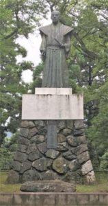 土井利忠公 銅像