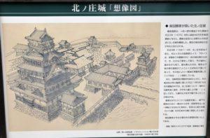 北ノ庄城 想像図