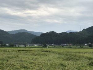 二曲城・遠景