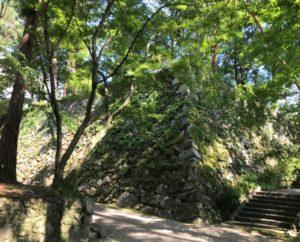 亀山城 天守台の石垣