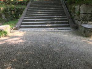 亀山城の城内