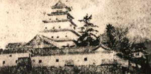 亀山城(丹波) 古写真