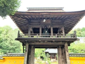 崇禅寺 鐘楼門