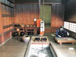 復元武家屋敷 主殿の台所