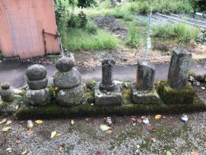 明智神社 墓 供養塔