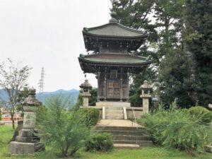 称念寺 二重の塔