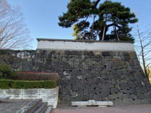 高崎城 石垣