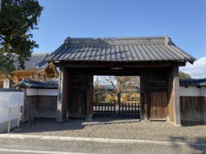 同聚院の武家門