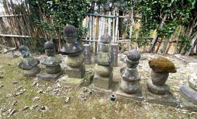新田義貞公と勾当内侍の墓