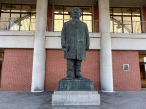 渋沢栄一記念館 銅像