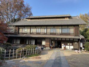 渋沢栄一「中の家」主屋