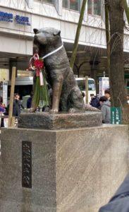 渋谷 ハチ公前