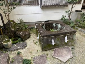 中村御所跡 化粧の井戸