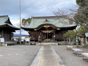 一條神社 社殿