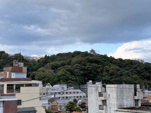一條神社からの眺め