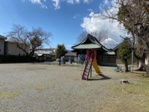 高木清秀の海老名屋敷跡