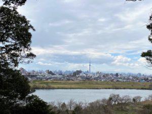 国府台城跡からの眺め