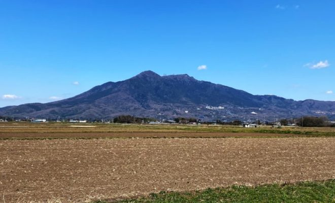 筑波山 遠景