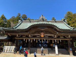 筑波山神社 拝殿